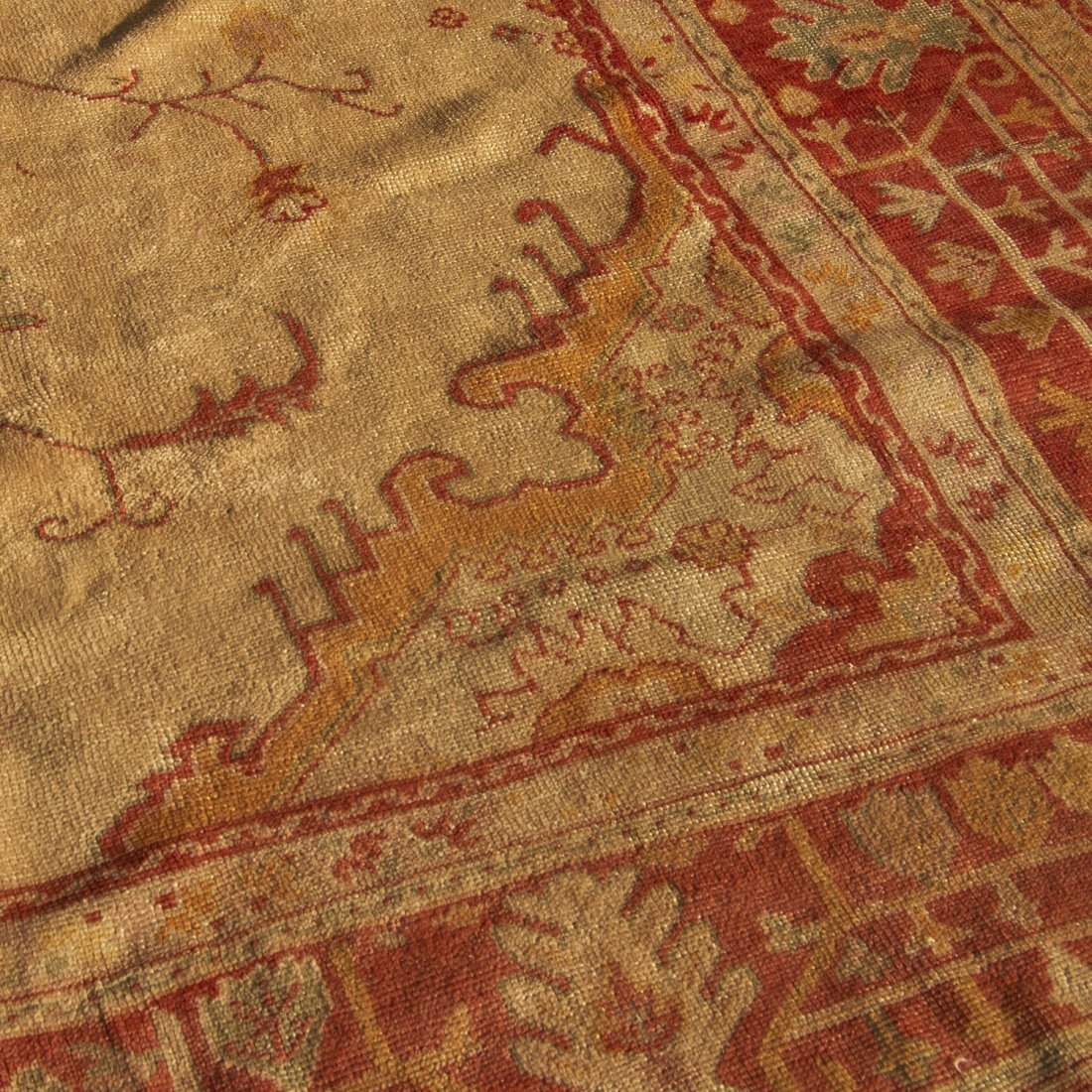 Room-size Oushak carpet - 4