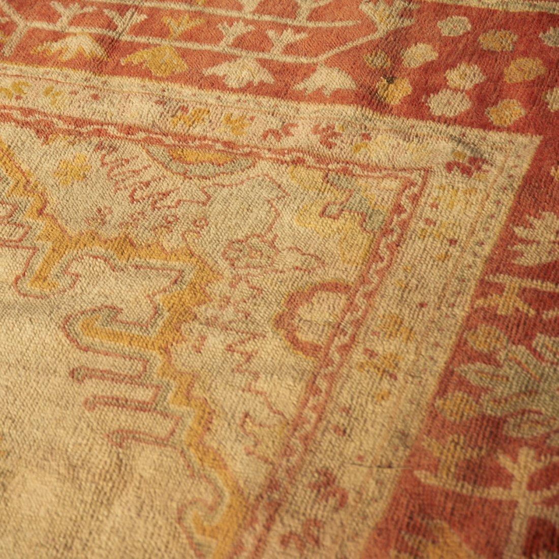 Room-size Oushak carpet - 5