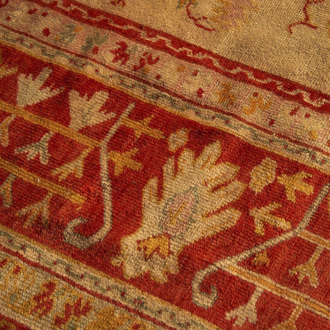Room-size Oushak carpet - 6