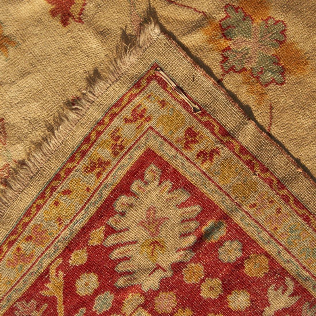 Room-size Oushak carpet - 7