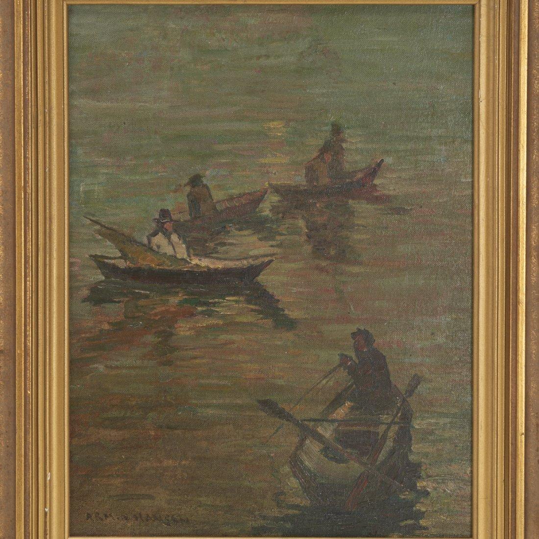 Armin Hansen, oil painting - 2