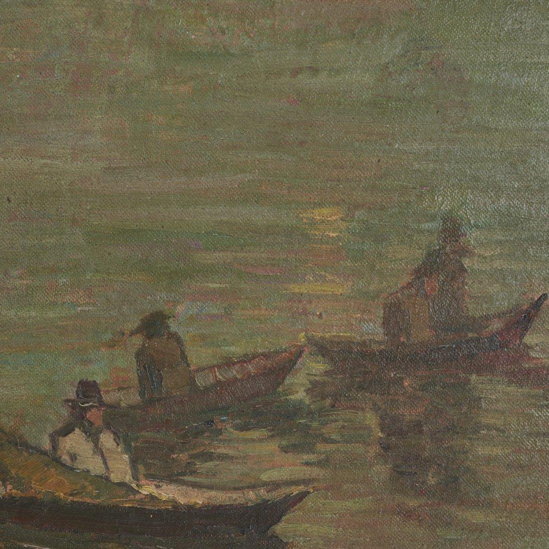 Armin Hansen, oil painting - 3
