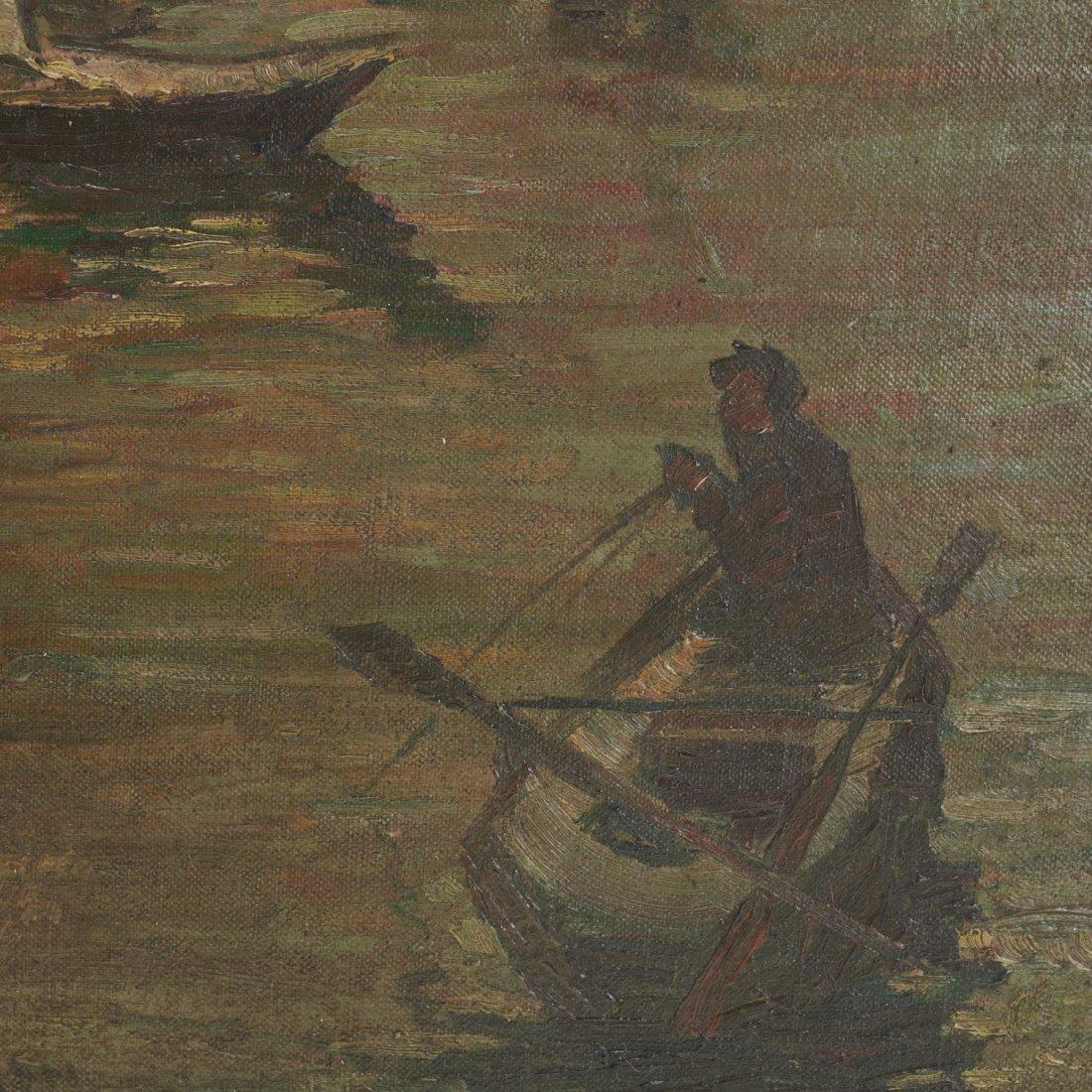 Armin Hansen, oil painting - 4