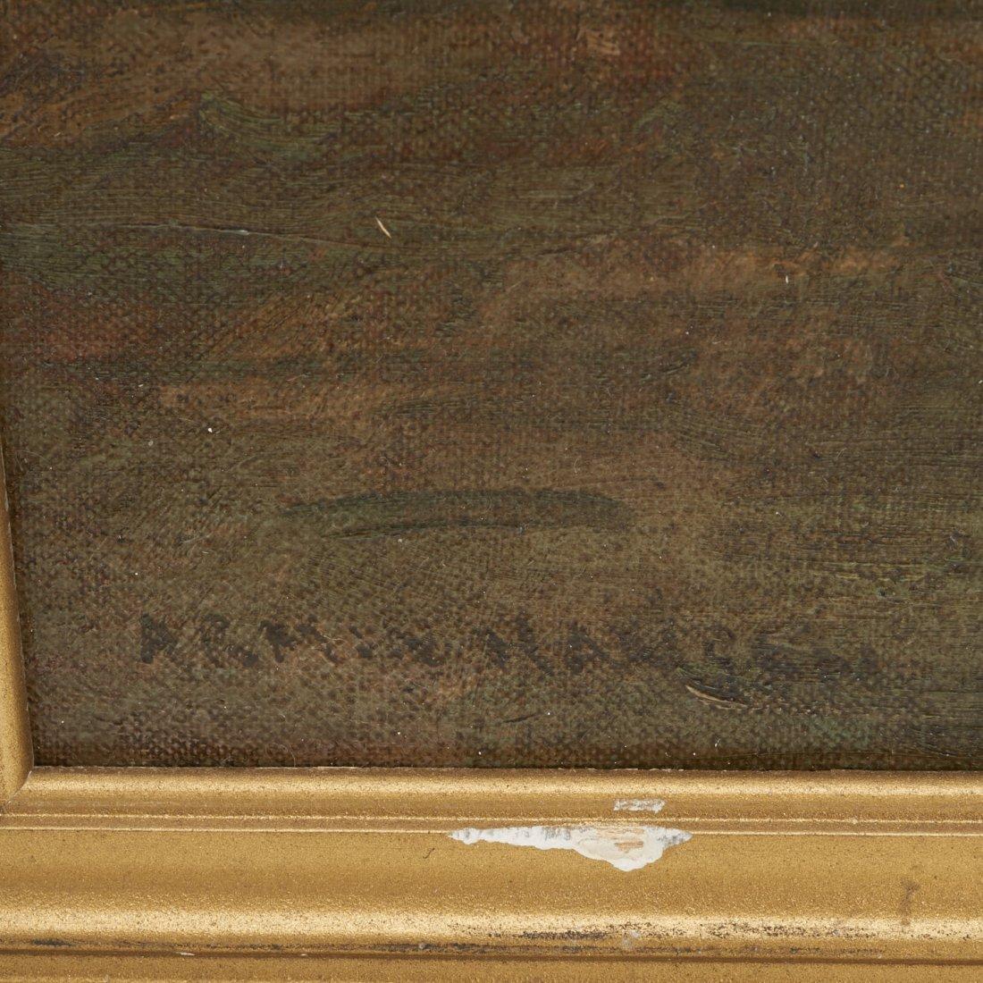 Armin Hansen, oil painting - 5