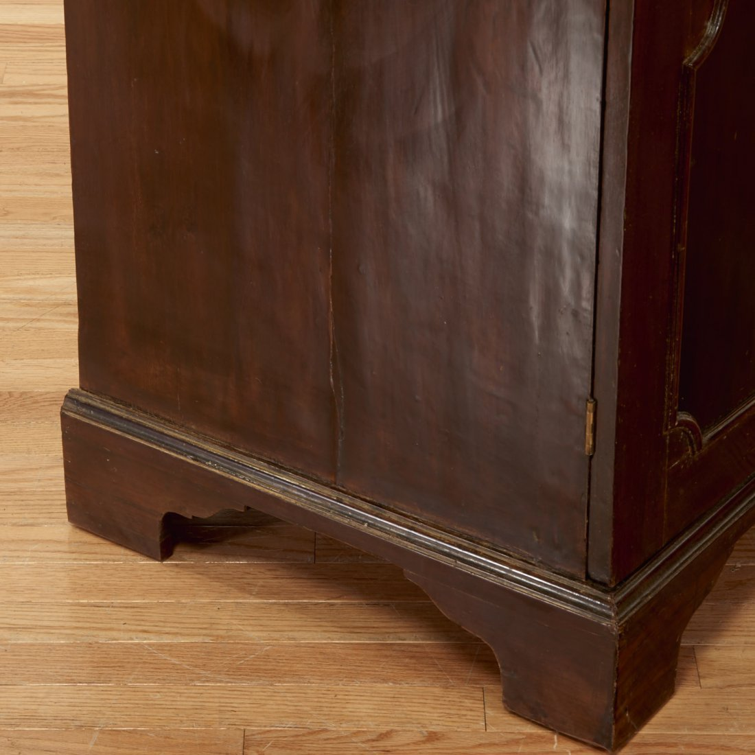George III mahogany collector's cabinet - 4
