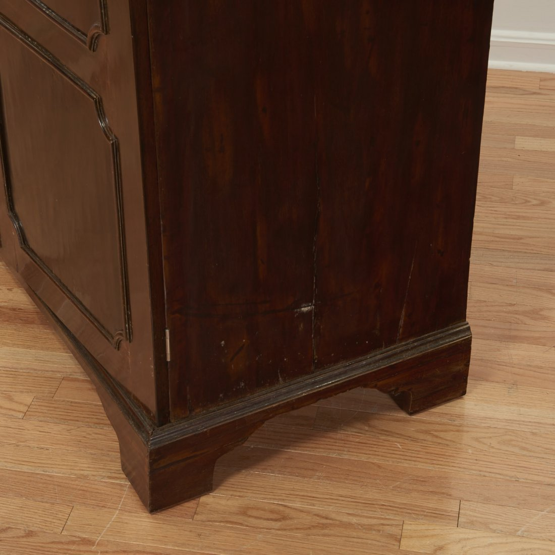 George III mahogany collector's cabinet - 7