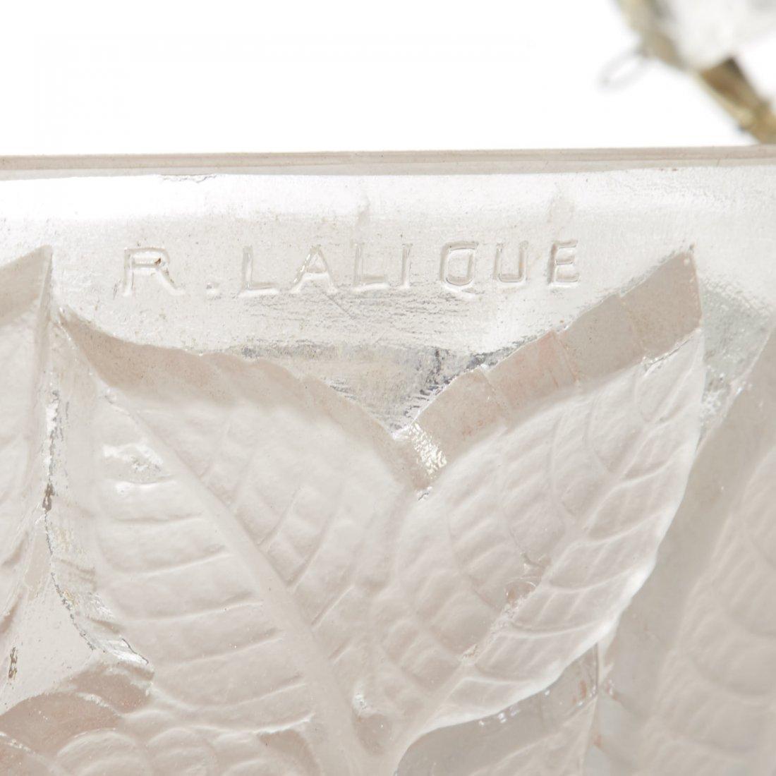 """R. Lalique """"Charmes"""" glass plafonnier - 6"""
