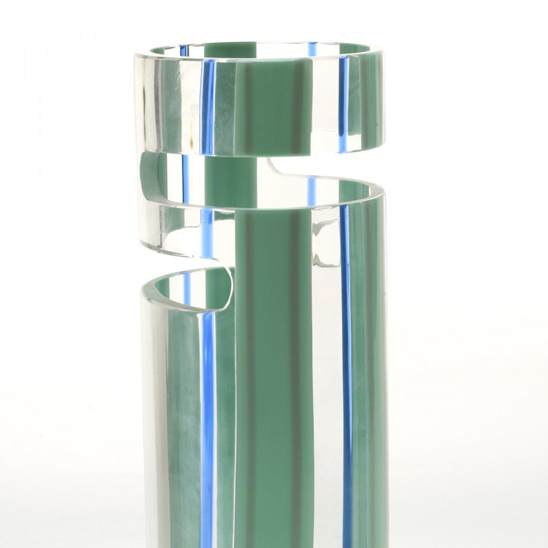 Livio Seguso Murano cut out glass vase - 3