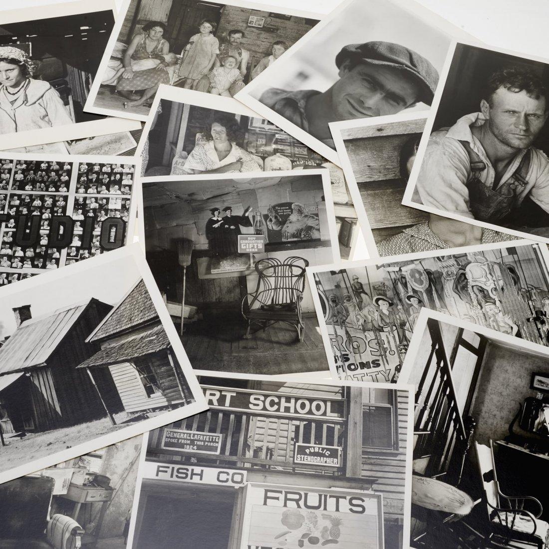 Walker Evans, portfolio (15) photographic prints