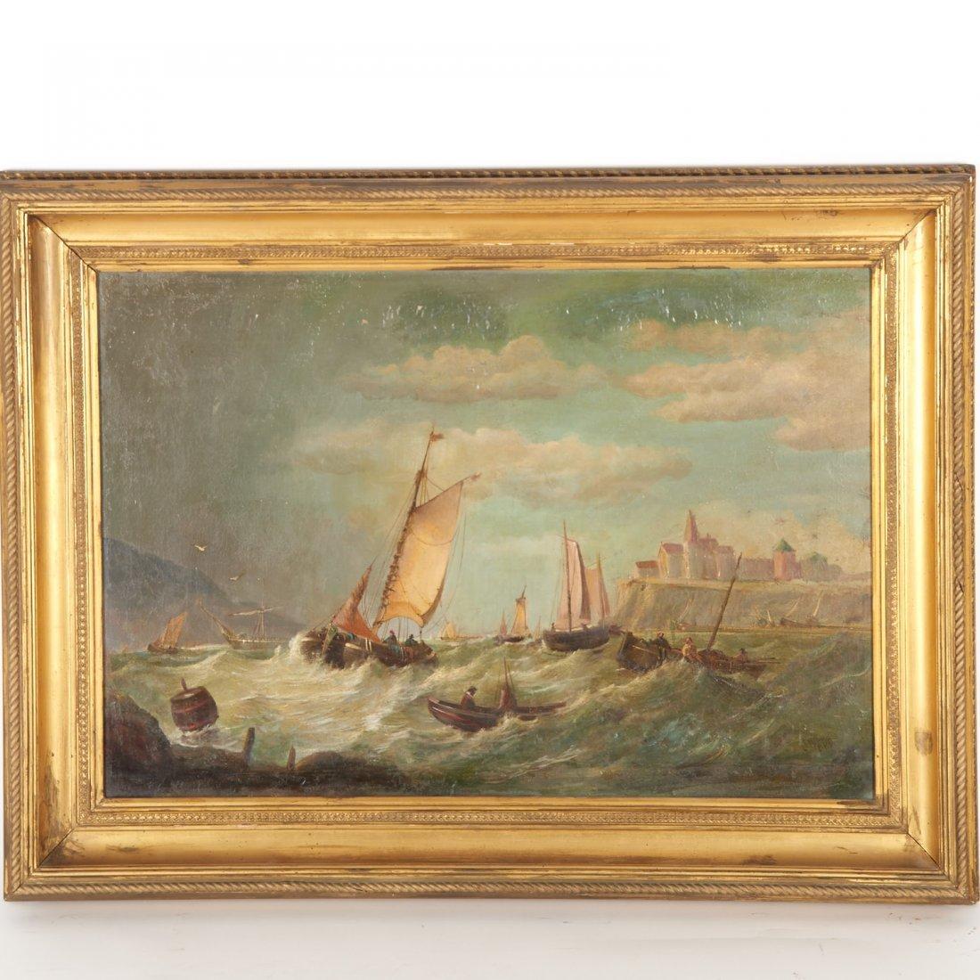 James Webb, large oil painting