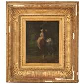 Circle of Jean Baptiste Camille Corot painting