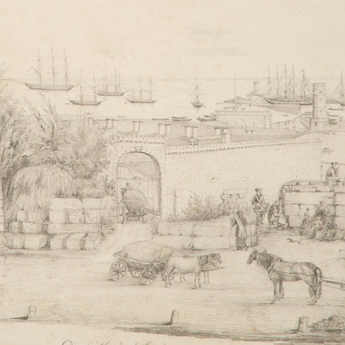 P. da Rennenkampff, drawing - 3