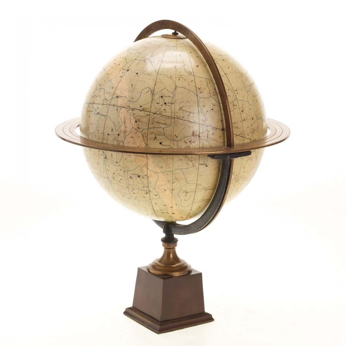 French celestial table globe by Charles Dien - 3