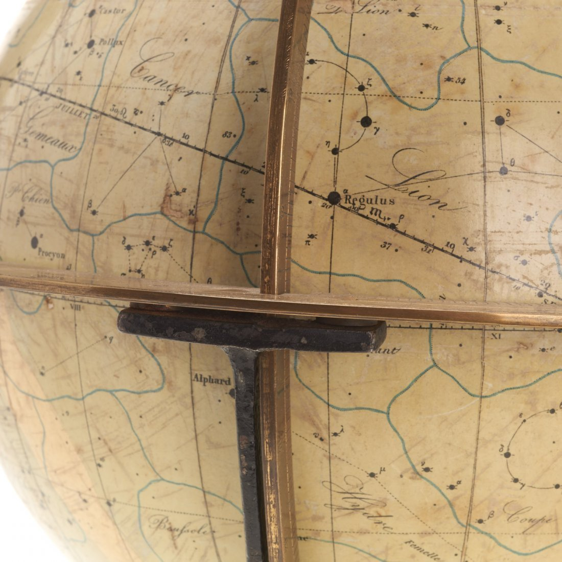 French celestial table globe by Charles Dien - 4