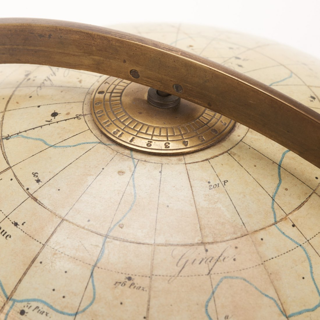 French celestial table globe by Charles Dien - 6