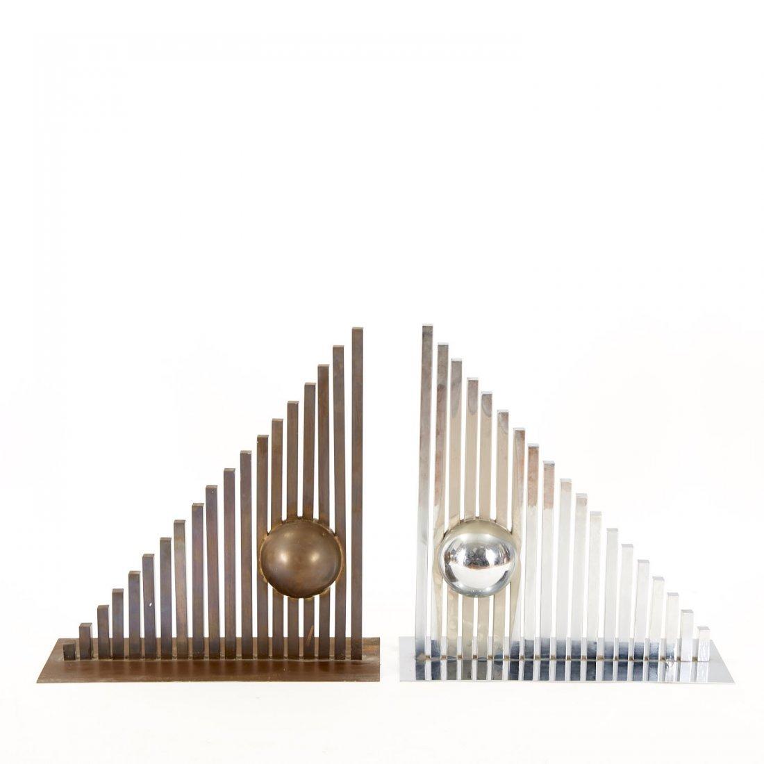 Itzhak Shmueli, pair sculptures