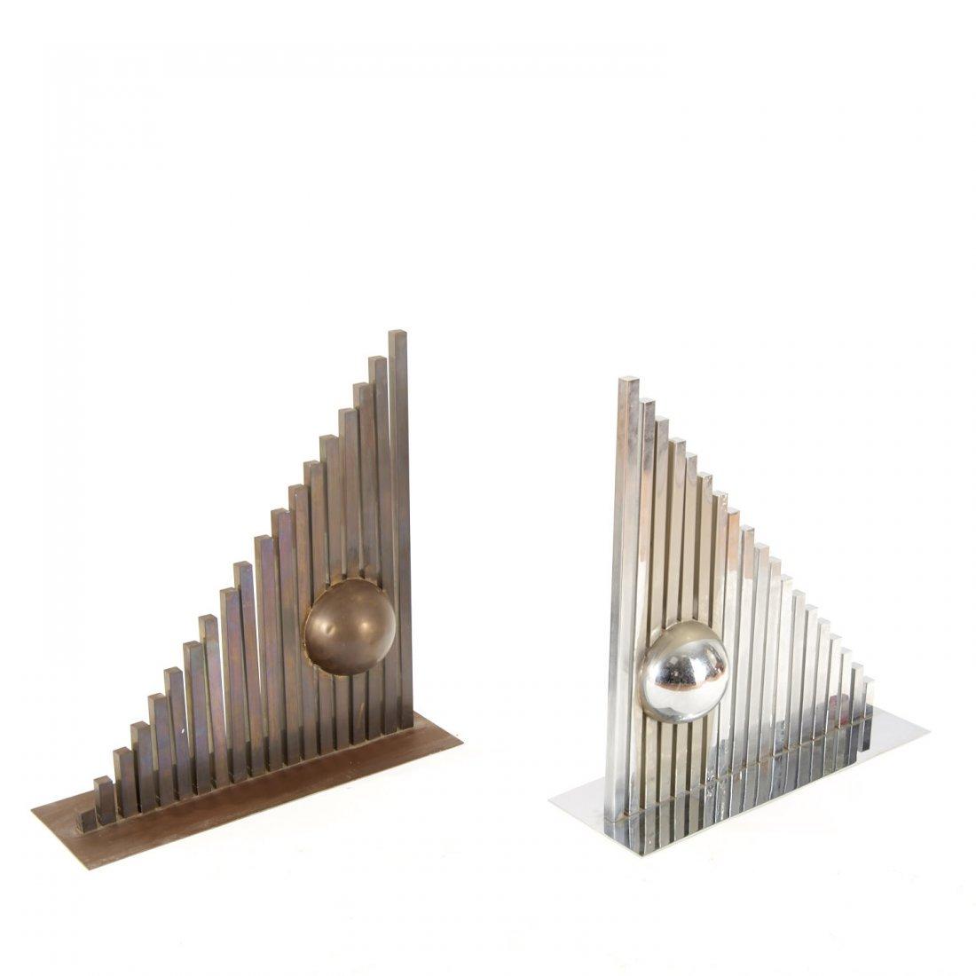 Itzhak Shmueli, pair sculptures - 2