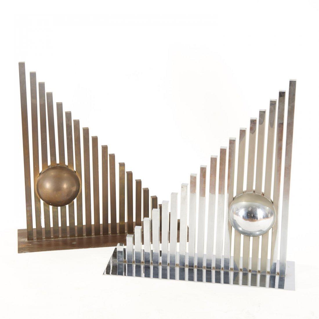 Itzhak Shmueli, pair sculptures - 4