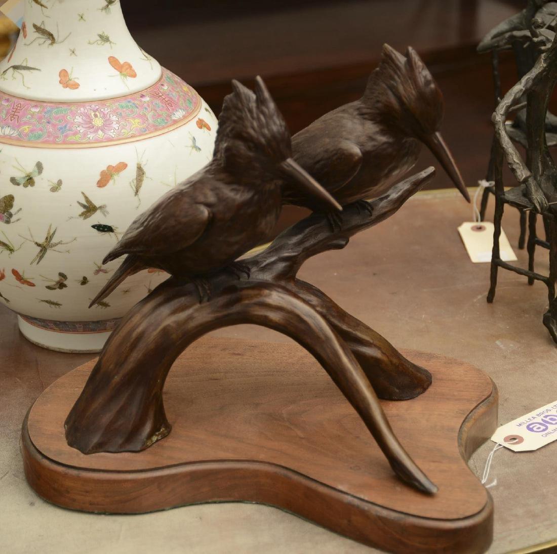 Lee Harold Letts, bronze sculpture