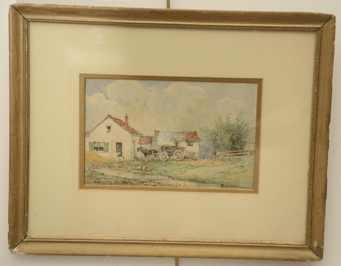 J.J. Breuning, painting