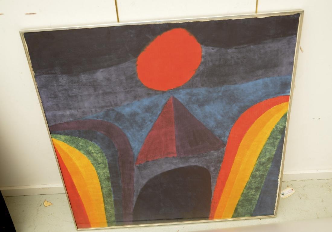 Carol Summers, color woodcut