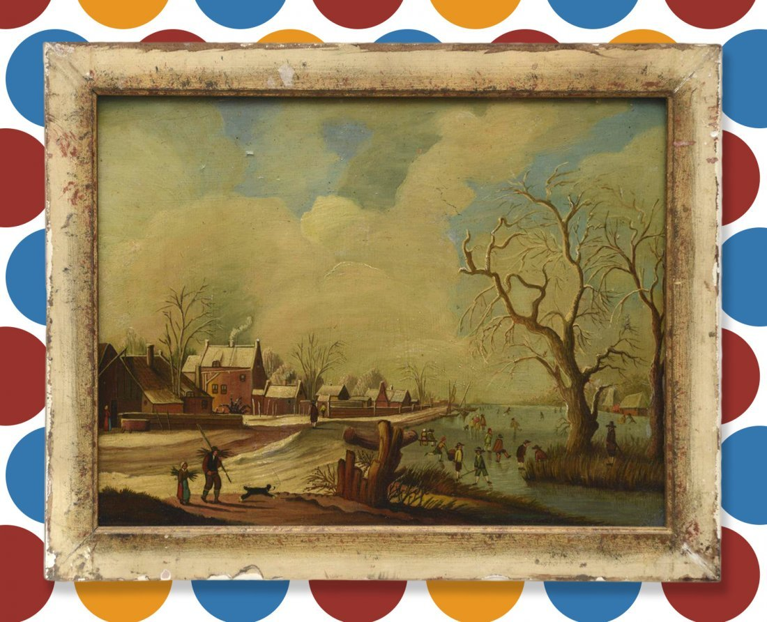 Manner of Hendrick Avercamp, painting