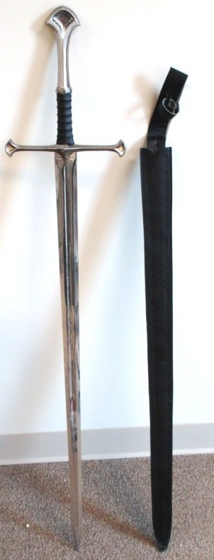PAKISTAN SWORD LEATHER WRAPPED HANDLE WITH SHEATH