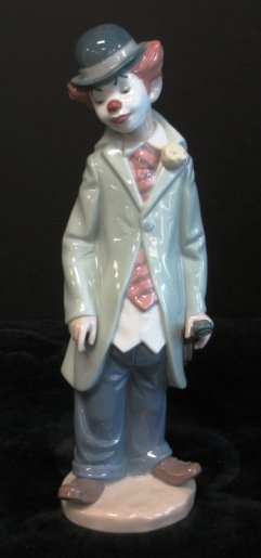 LLADRO CLOWN WITH VIOLIN #5472 Lladro figurine