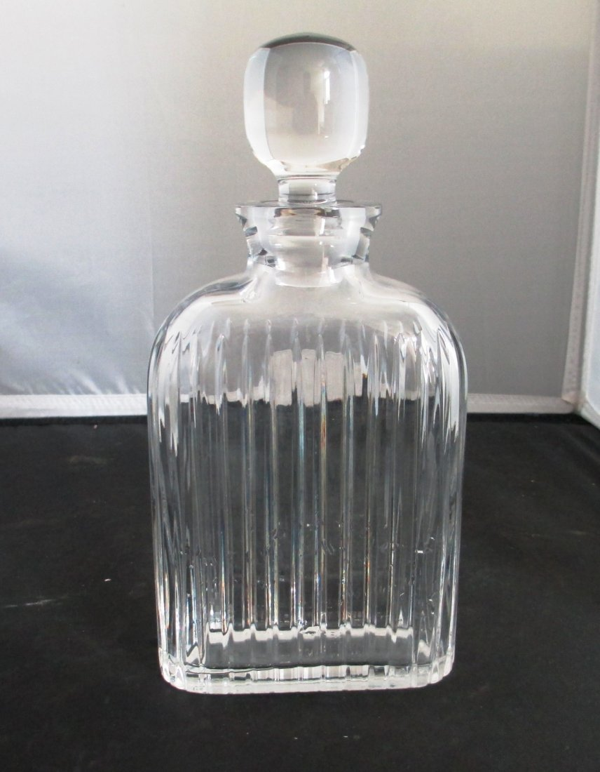 SCOTCH CRYSTAL DECANTER BY ATLANTIS (SIGNED)