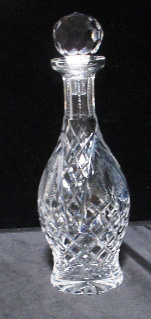 WATERFORD CRYSTAL WINE DECANTER Diamond Cut Pattern