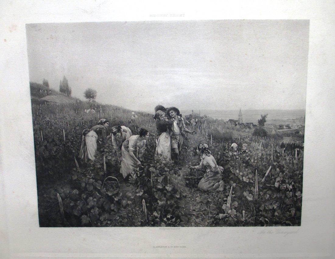 19TH C  GOUPIL PHOTOGRAVURE BY D. APPLETON & CO