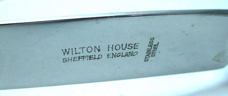 WILTON HOUSE SHEFIELD SILVER PLATE FLATWARE FOR 12 - 6