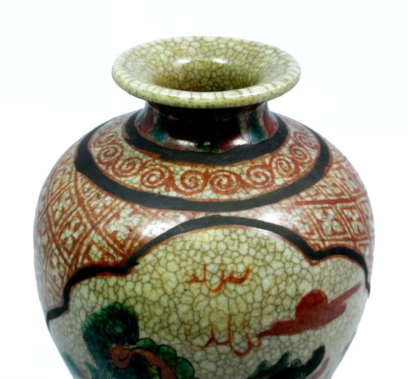 CHINESE 18TH CENTURY CHIEN LUNG PORCELAIN VASE - 3
