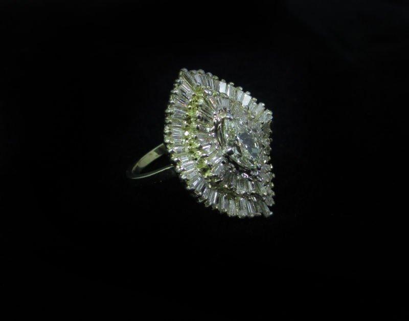 14K YELLOW GOLD 5.51 CTW DIAMOND RING