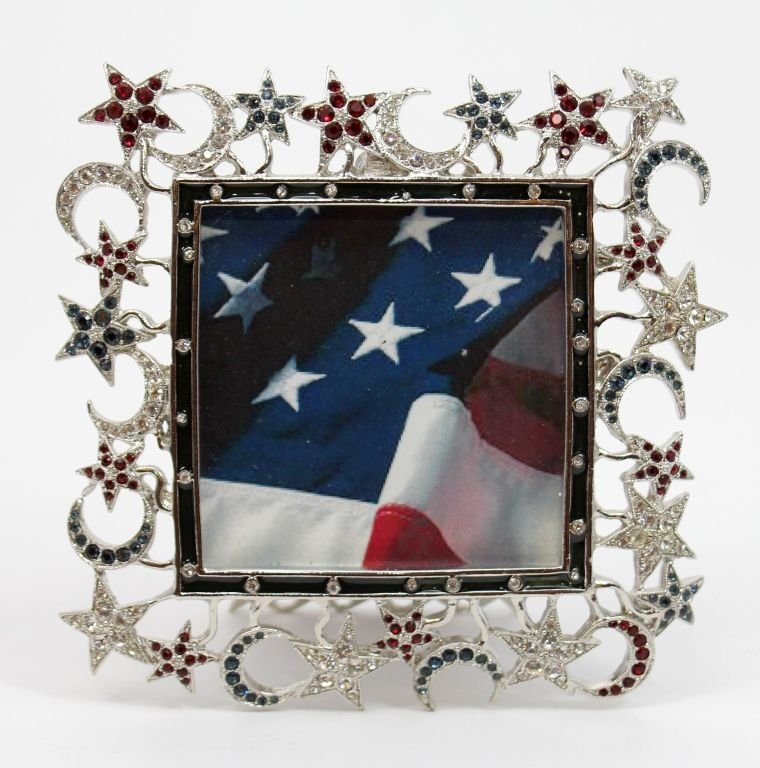 JAY STRONGWATER MOON & STAR PICTURE FRAME