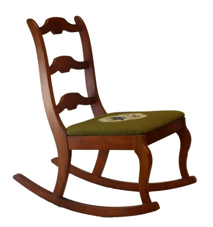 CHAIR CO VINTAGE WOODEN ROCKING CHAIR