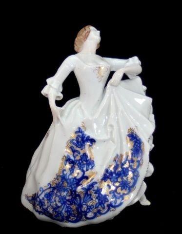 ROSENTHAL GERMAN PORCELAIN DANCING WOMAN FIGURE
