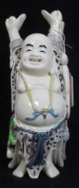 HAPPY BUDDHA RESIN FIGURE