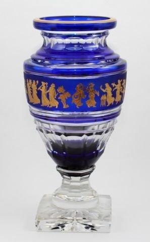 Val Saint Lambert Vase Jupiter Danse De Flore Cobe