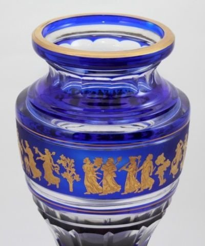 Val Saint Lambert Vase Jupiter Danse De Flore Cobe - 2