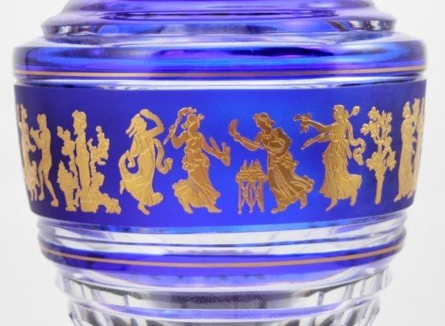 Val Saint Lambert Vase Jupiter Danse De Flore Cobe - 3