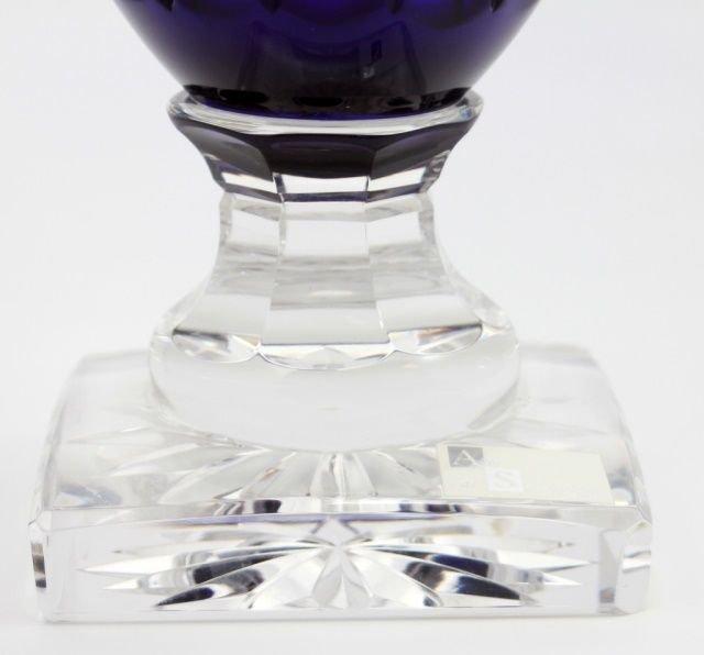 Val Saint Lambert Vase Jupiter Danse De Flore Cobe - 4