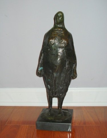 Francisco Zuniga (1912 – 1998) bronze sculpture