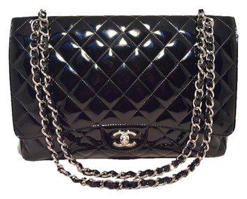 Chanel Patent Leather Maxi Flap Classic bag