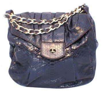 Zagliani Handmade Snakeskin Shoulder Bag