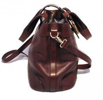 Barry Kieselstein-Cord Leather Poodle Shoulder Bag - 3