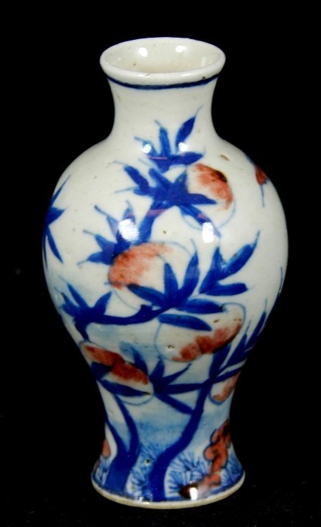 ANTIQUE MINIATURE CHINESE PORCELAIN VASE