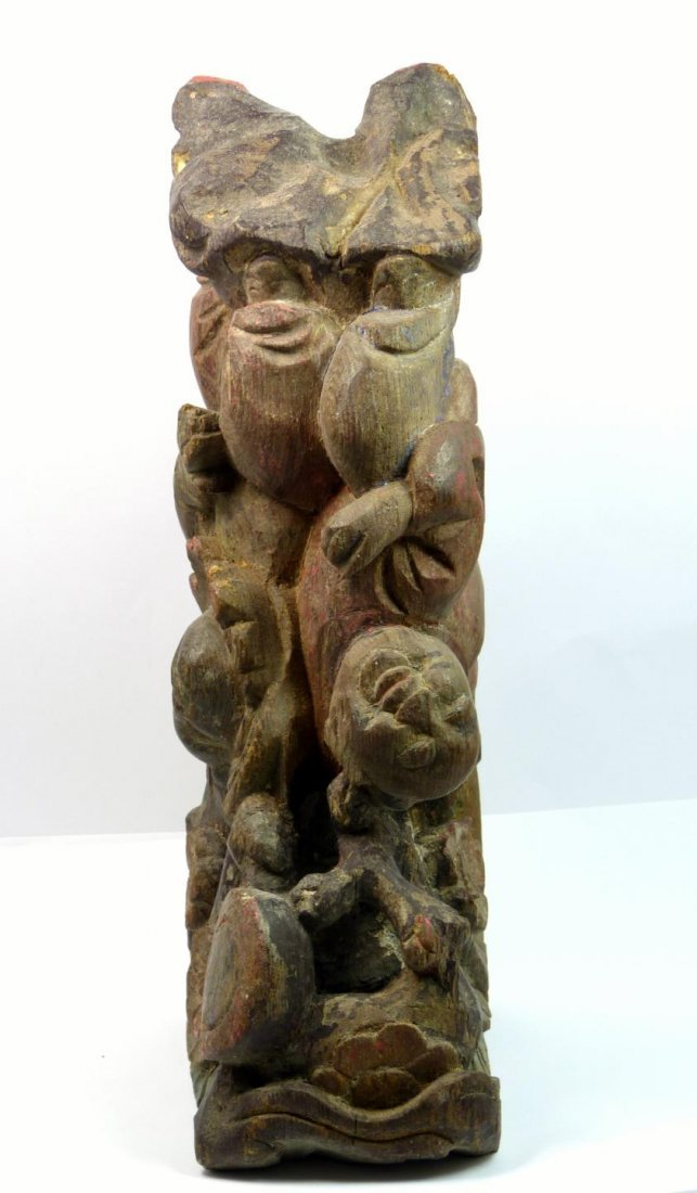 ANTIQUE CHINESE ARCHITECTURAL CARVING