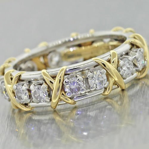 Tiffany & Co Schlumberger 18k Band Ring