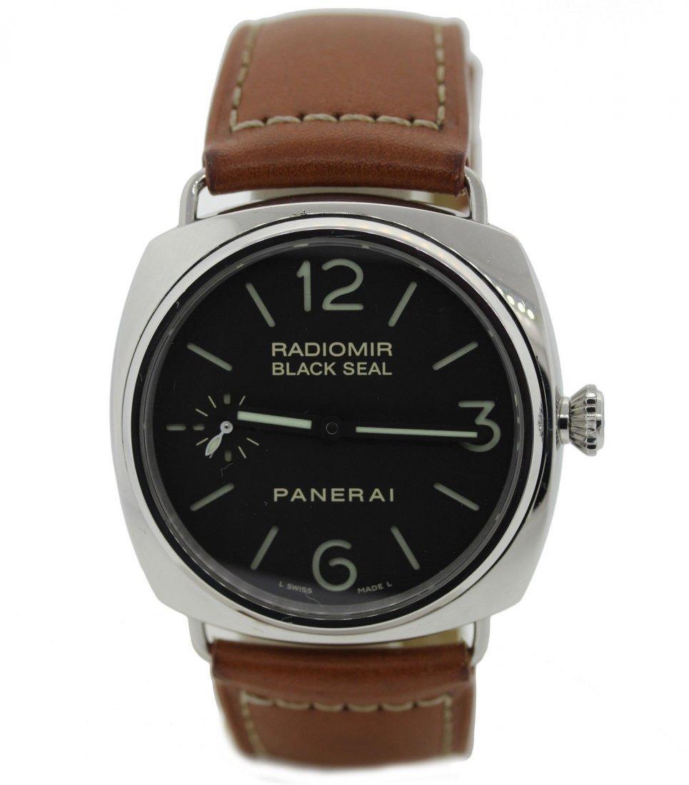 Panerai Radiomir Black Seal Stainless watch